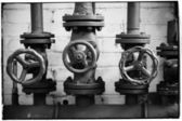 Decorative Three Valves — Stockfoto