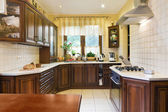 Classic Kitchen Interior — Stock Photo