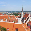 View of Tallinn oldtown, Estonia. — Stock Photo