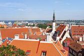 View of Tallinn oldtown, Estonia. — Stock Photo