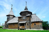 Orthodox wooden church Suzdal — Stock Photo