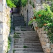 Stock Photo: Narrow old street in Dubrovnik, Croatia