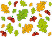 Background leaves — Stock Vector