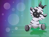 Little zebra — Stock Photo