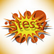 Stock Vector: Stress