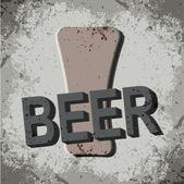 Symbol of beer — Stockvector