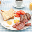 Stock Photo: Cooked english breakfast