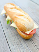 Sub sandwich — Stock Photo