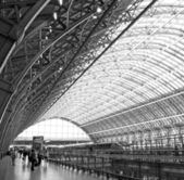 St Pancras Station London — Stock Photo