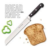 Bread Knife EPS10 — Stock Vector