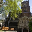 Stock Photo: St. Bartholomew-the-Great Church in London