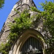 Church of St Mary at Lambeth in London - Stock Photo