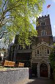 Iglesia de San Bartolomé el grande en Londres — Foto de Stock