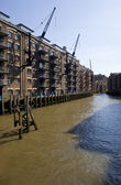 St. Saviour's Dock in London — Stockfoto