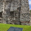 Remains of London Wall — Stock Photo