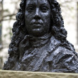 Постер, плакат: Bust of Samuel Pepys in Seething Lane Garden