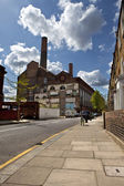 Lots Road Power Station in Chelsea — Stock Photo