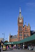 Kings Cross Station in London — Stock Photo