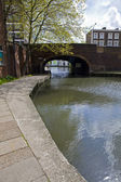 Regents Canal Tow Path in London. — Stock Photo