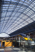 St. Pancras International Station in London — Stock Photo