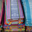 Stock Photo: Tais fabric in dili east timor, timor leste