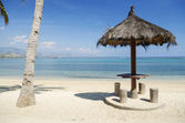 Beach near dili east timor — Stock Photo