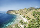 Beach near dili east timor, timor leste — Stock Photo