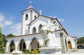Church in dili east timor — Stockfoto