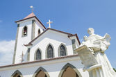 Church in dili east timor, timor leste — Stock Photo