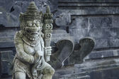Sculpture in temple bali indonesia — Stock Photo