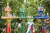 Casas de espírito na tailândia — Fotografia Stock