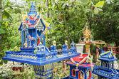 Espírito casas em ko phangan tailândia — Fotografia Stock