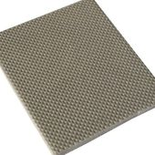 Sample of acoustic insulation for soundproofing floor — Stock Photo