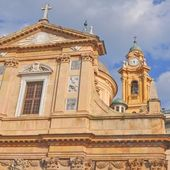 修道院的圣安德莉亚、 热那亚 — 图库照片