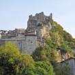 Stock Photo: Castelvecchio di RoccBarbena