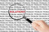 Trovare soluzioni — Foto Stock