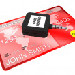 Stock Photo: Mobile Credit Card reader
