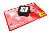 Mobile Credit Card reader — Stock Photo