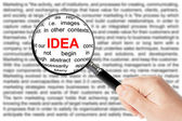 Idea sign — Stock Photo