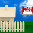 Yard Sale Banner — Stock Photo