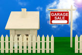 Garage Sale Banner — Stock Photo