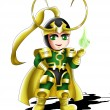 Loki Chibi — Stock Photo #11370010