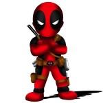 Deadpool Chibi — Stock Photo