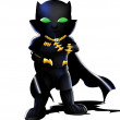 Постер, плакат: Black Panther Chibi