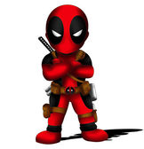 Deadpool Chibi — Stock Photo