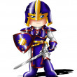 Black Knight Chibi - Stock Photo
