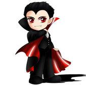 Dracula Chibi — Stock Photo