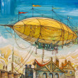 Dirigible — Stock Photo