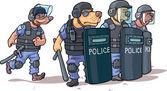 Police — Stock Vector