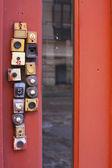 Doorbells — Stock Photo